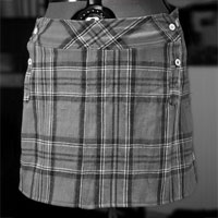 Hemd wird Minirock
